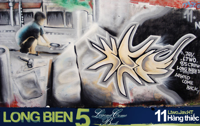 Long Biên 5 Graffiti Battle 9