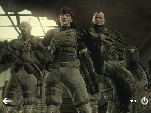 Metal Gear Solid Touch iPad screenshot 2