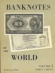 Sten Banknotes of the World Volume 1