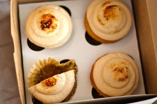 Creme Brulee Cupcakes from The Sweet Tooth Fairy (Provo & Draper, Utah)