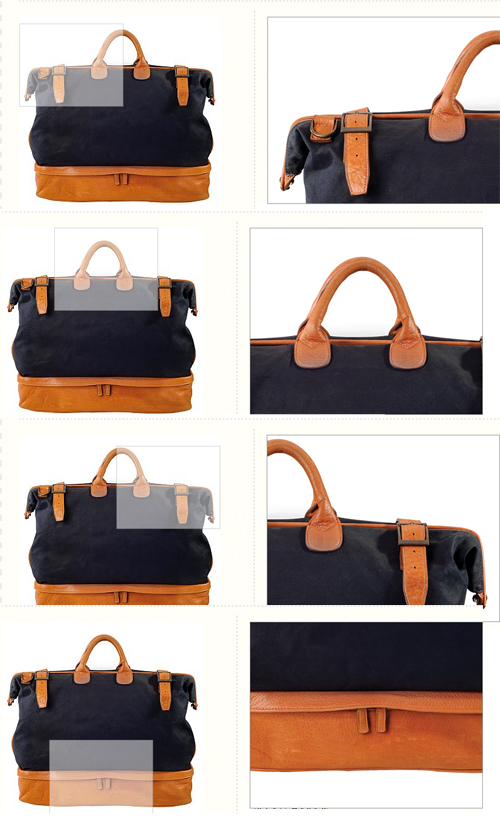Moore & Giles traveler bag