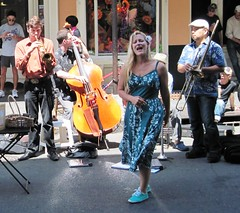 street band in New Orleans (c2010 FK Benfield)