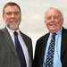 Nelson McCausland with Fred Walker