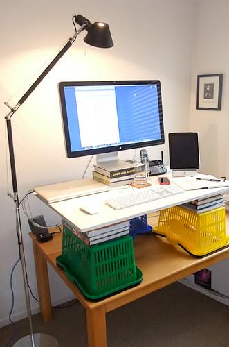 Improvised Standing Desk, Mk-ii