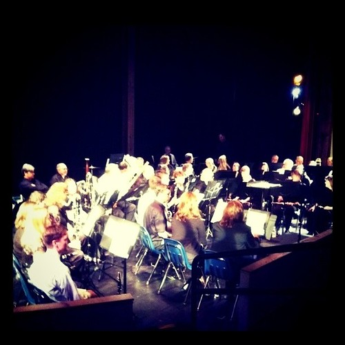 Steven's band concert