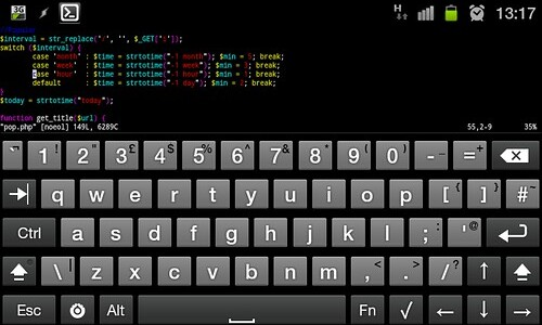 Hacker's Keyboard for Android   The Artesea