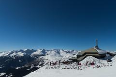 Adlerhorst - Himmel auf Erden (ferle) Tags: sky snow mountains tourism sunshine snowboarding restaurant high skiing view carinthia alpine far gastro katschberg adlerhorst himmelauferden ferlitsch