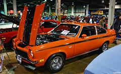 1972 Chevy Yenko Vega (Chad Horwedel) Tags: 1972chevyyenkovega chevyyenkovega chevrolet chevy yenko vega classic car musclecarcorvettecarshow rosemont illinois