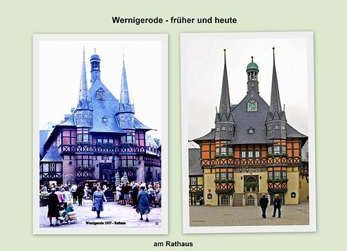Wernigerode - früher und heute, Rathaus