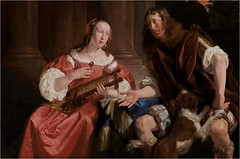 Jan de Bray — A Couple (The Artist and his Wife Represented as Ulysses and Penelope), 1668. Painting: Oil on canvas, 109.9 x 65.1 cm. Speed Art Museum, Louisville, Kentucky. Nice painting? Yes. Excuse to revisit the recognition scene between Penelope and (ArtAppreciated) Tags: fineart painting blogs tumblr artblogs artappreciated artoftheday artofdarkness artofdarknessco artofdarknessblog jan de bray dutch golden age northern renaissance date1668 1660s 17th century baroque art realism hyperrealism portrait artists wife family artist fanfic literature odyssey greek odysseus penelope famous couples couple husband allusion history masters