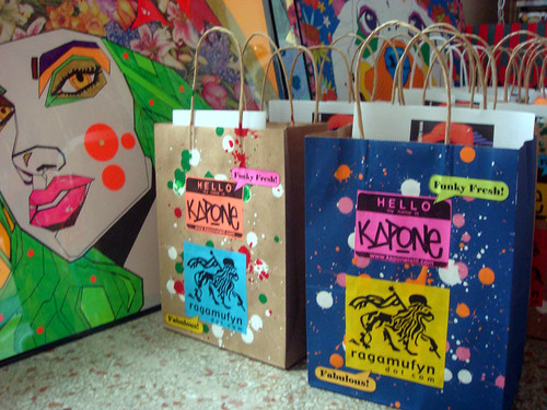chromotherapy gift bags!