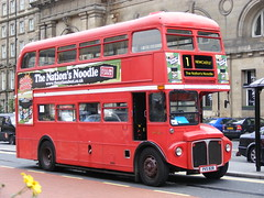 RM1018 PVS828 AEC Routemaster TWH Bus & Coach Services (emdjt42) Tags: routemaster newcastleupontyne aec pvs828 rm1018 twhbuscoachservices