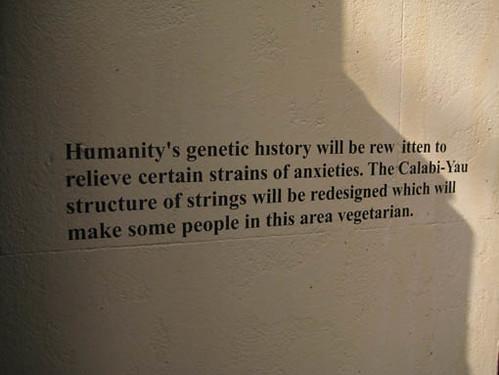 humanity's genetic history