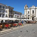 Évora: Giraldo square, the main square