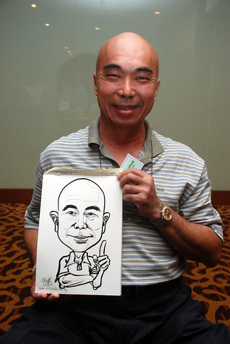 Caricature live sketching for Rheen Manufacturing Company (Singapore) Pte Ltd  - 10