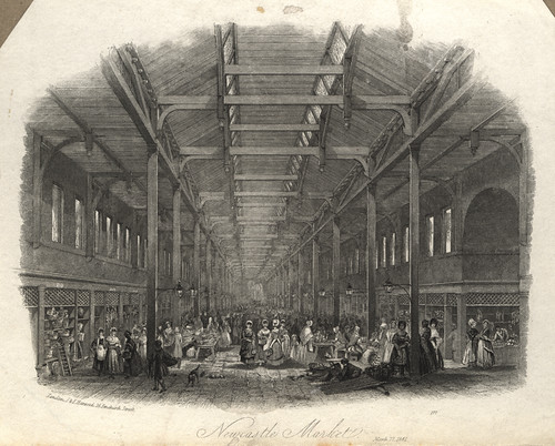 011909:Grainger Market (Green Market section) Newcastle upon Tyne Unknown 1841