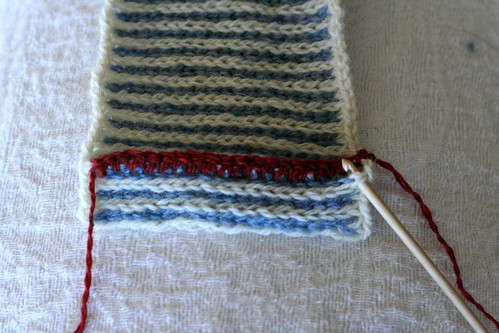 Crochet Steek Reinforcement