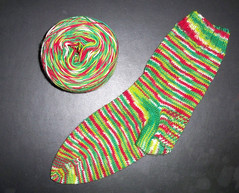 Zen String Jingle Sock