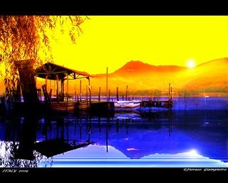 the lake of Fimon...Italy 2009