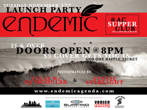 Endemic Launch Party