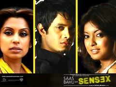 [Poster for Saas Bahu Aur Sensex]