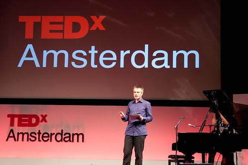 TEDxAmsterdam Moderator Joris Luyendijk