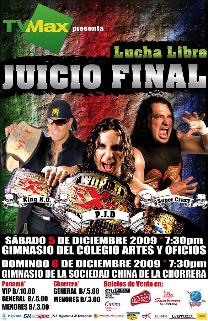 """Se avecina """"El Juicio Final"""" de RXW - Revancha: Súper Crazy vs Panama Jack Daniels 1"""