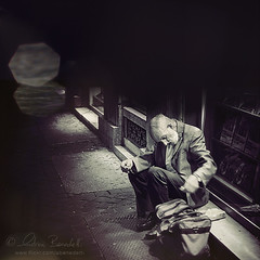 the dark side (Ąиđч) Tags: street old portrait italy man rome roma andy photography strada italia andrea f14 candid homeless poor andrew beggar desperate uomo fotografia ritratto vecchio mendicante benedetti senzatetto povero disperato nikond90 ąиđч potdinspiringphotograph