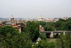 Rom, Parco Savello, Aussicht über das Centro Storico (view of the historical center) (HEN-Magonza) Tags: italien italy rome roma italia synagoge rom centrostorico aventin parcosavello sancarloaicatinari