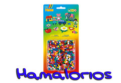 Blister Hama Beads midi 2000 piezas mix 00