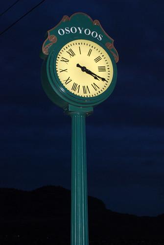 33 - Osoyoos Clock