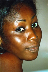 Ghanaian West African Beautiful Natural Lady in Accra Ghana April 14 1999 005 Beautiful African Portrait (photographer695) Tags: west girl beautiful lady natural african 1999 ghana topless april accra ghanian ghanaian