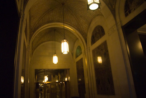 View of an NYC entryway