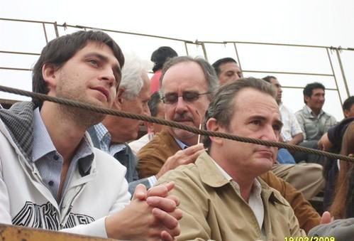 Roberto Puga y Juan Manuel Roca Rey