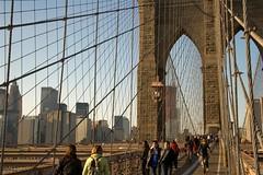 Brooklyn Bridge November 2009 (MikeJay Photo) Tags: nyc newyorkcity bridge urban usa newyork 20d skyline brooklyn canon eos manhattan bridges landmark brooklynbridge lowermanhattan eos20d downtownmanhattan newyorkbridges nycbridges canonefs1785mmf456isusm