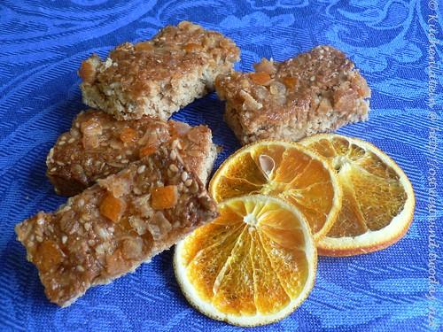 Orangen-Haferkekse