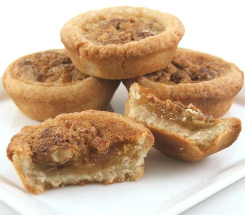 Pecan Tassies (aka Pecan Pie Cookies) - Evil Shenanigans