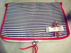 capa note Navy (Pé de Pera) Tags: navy case fabric joaninha tecido netbook capadenotebook pédepera
