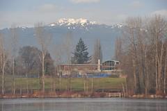 Shadbolt Centre for the Arts, on Deer Lake (D70) Tags: park winter lake canada bc centre arts deer burnaby shadbolt deerlakepark