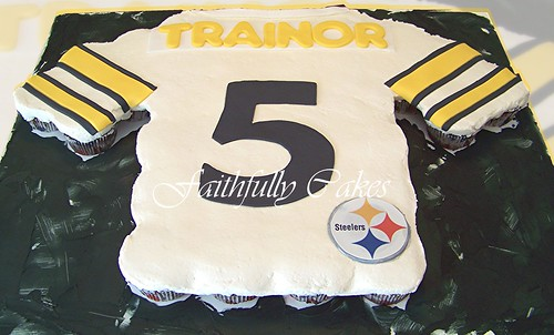 Steelers Jersey Cupcakes A Photo On Flickriver