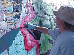 "Choosing the right colors (""14BOLT"") Tags: video frame graff dtk"
