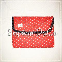Capa de Notebook Joaninha (emporiodaca) Tags: notebook handmade artesanato notebookbag capadenotebook empóriodaca