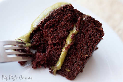 Vegan Chocolate Avocado Cake 2