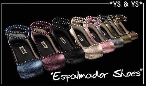 *YS & YS* Espalmador Shoes