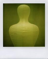 L'homme en papier (ale2000) Tags: man verde green mannequin paper square polaroid uomo 600 instant papel shape papier slr680 carta homme manichino istantanea aledigangicom instantanalog