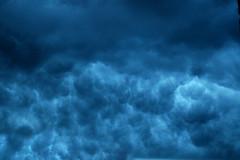 Tenebrous (DJ Axis) Tags: sky orange cloud storm clouds dark spectacular gris montreal stormy ciel cotton sombre cumulus nuages orage obscure thunderstorms cumulonimbus mchant couvert tnbreux spectaculaire