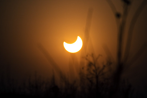 Partial Eclipse Fuping Weinan Shaanxi China