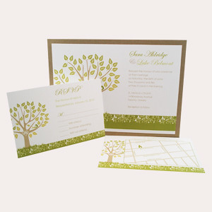 Spring wedding invitations-1
