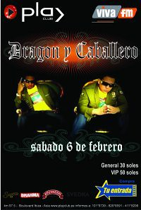 Dragon y Caballero - Discoteca Play Club