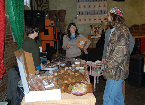 Atlana Vegan Bake Sale for Haiti 1/30/10